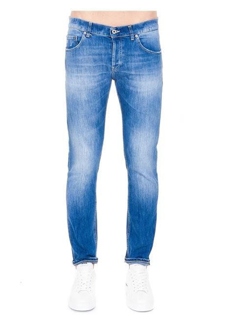 JEANS BLU IN COTONE MODELLO MIUS SLIM FIT DONDUP | Jeans | UP168DS0107AY5DUS21800