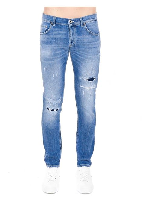 JEANS IN DENIM CHIARO MODELLO MIUS SLIM FIT DONDUP | Jeans | UP168DS0229BD1DUS21800