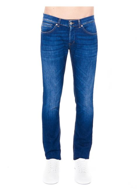 BLUE COTTON JEANS MODEL GEORGE SKINNY FIT DONDUP | Jeans | UP232DS0145BD4DUS21800