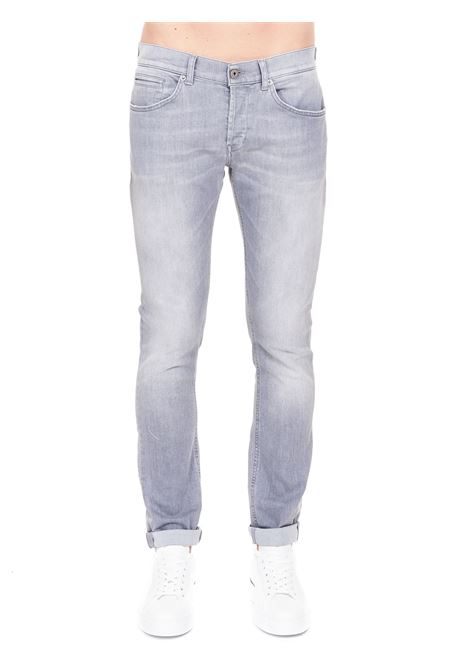 GRAY COTTON JEANS MODEL GEORGE SKINNY FIT DONDUP | Jeans | UP232DSE294BA1DUS21900