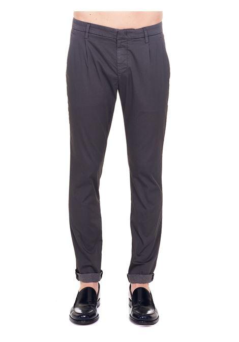 GRAY COTTON PANTS MODEL GAUBERT PINCES DONDUP | Pants | UP517CS0083PTDDUS21910
