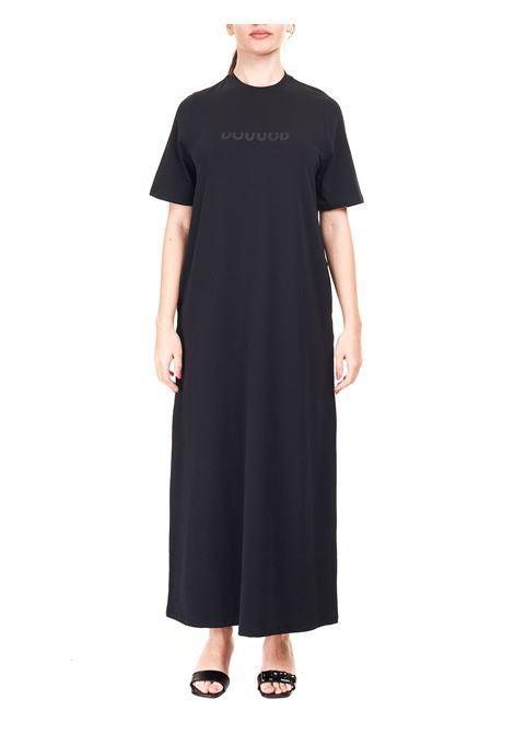 BLACK DRESS WITH LOGO APPLICATION DOU DOU |  | ARACHIDEDD03BLACK