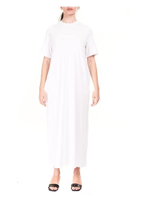 WHITE DRESS WITH LOGO APPLICATION DOU DOU |  | ARACHIDEDD03WHITE