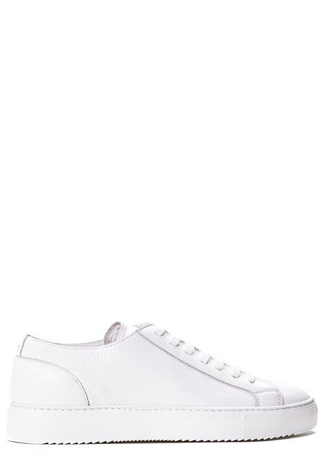 WHITE LEATHER SNEAKERS DUCA DI WELLS | Sneakers | NU2457ERICUZ109IW00NOVA BIANCO+F.DO BIANCO