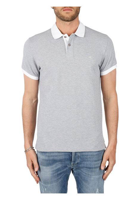 COTTON POLO WITH FRONT LOGO EMBROIDERY SLIM FIT ETRO | Polo shirt | 14455/93013