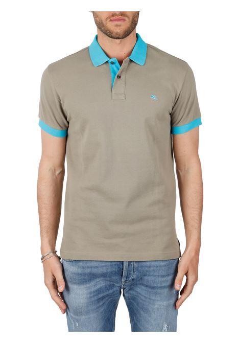 COTTON POLO WITH FRONT LOGO EMBROIDERY SLIM FIT ETRO | Polo shirt | POLO3TORTORA