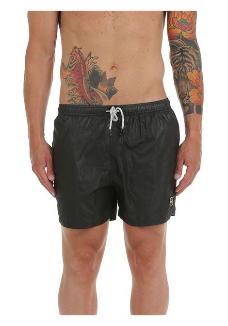 LIGHTWEIGHT FABRIC SEA SHORTS F**k | Swimming suit | F212002NRNERO