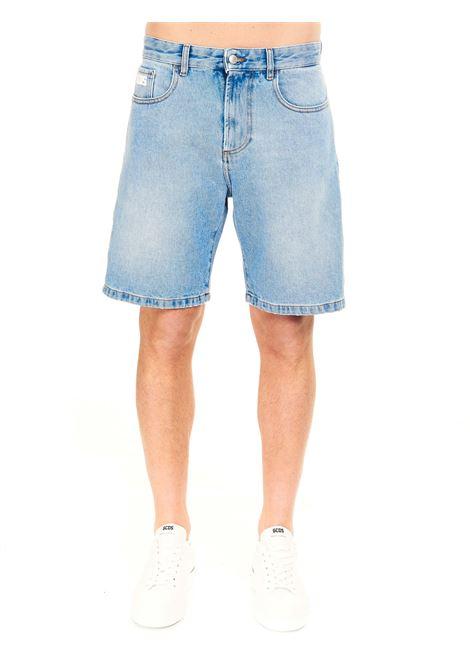 BERMUDA IN DENIM GCDS | Shorts | CC94M03140455