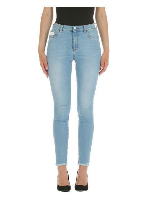JEANS IN DENIM DI COTONE LIGHT WASH GCDS | Jeans | CC94W03140055