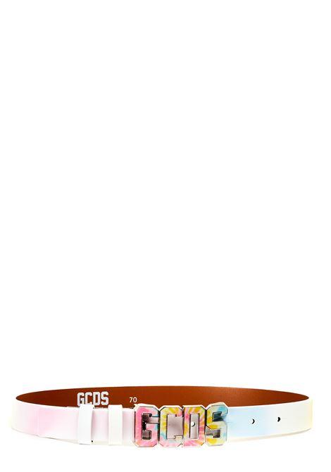 CINTURA IN PELLE COLORATA GCDS | Cinture | SS21M010062MX