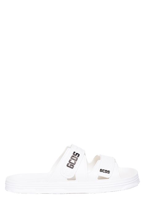 WHITE PVC SANDAL