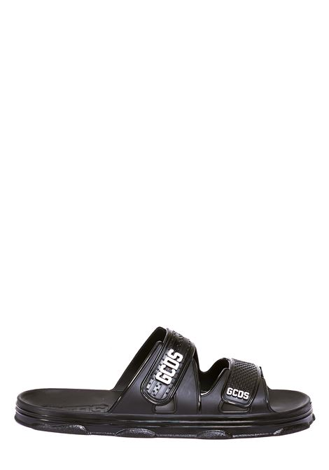 BLACK PVC SANDAL