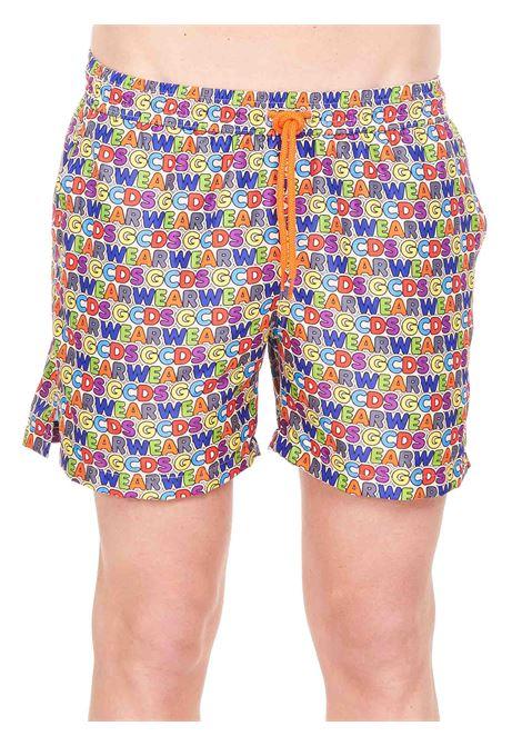 SHORTS MARE STAMPATO GCDS | Costumi | SS21M050308MX
