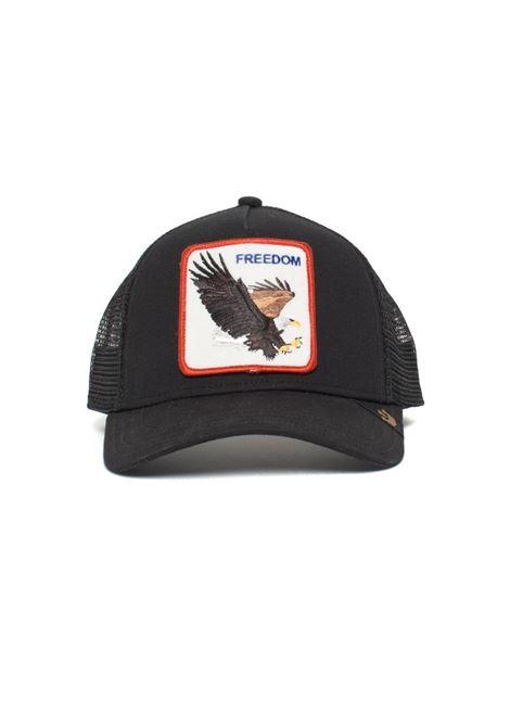 FREEDOM BLACK VISOR HAT GOORIN BROS | Hair | AQUILA1010209NERO