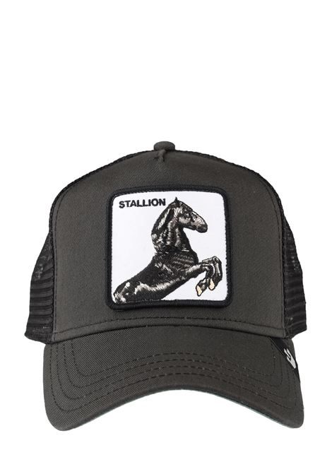 STALLION BLACK VISOR HAT GOORIN BROS | Hair | CAVALLO1019991NERO