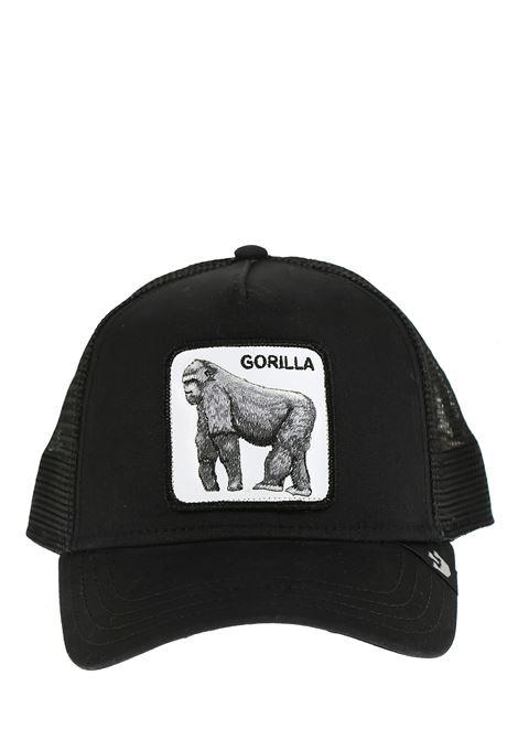 GORILLA BLACK VISOR HAT GOORIN BROS | Hair | GORILLA1010333NERO