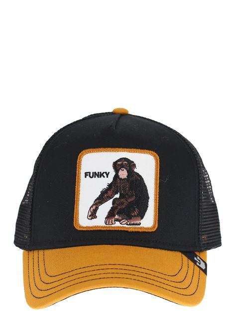 FUNKY BLACK VISOR HAT GOORIN BROS | Hair | SCIMMIA1010510NERO