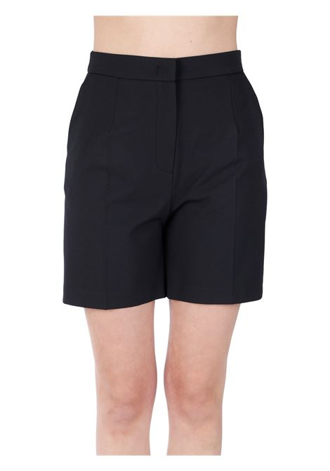 HIGH WAIST BLACK SHORTS ICONA |  | NP5CO0010001