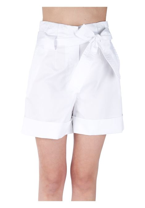 HIGH WAIST SHORTS WITH BOW KAOS | Trousers | NP1MR0561065