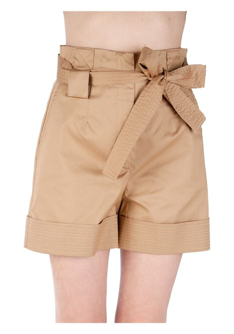 HIGH WAIST SHORTS WITH BOW KAOS | Trousers | NP1MR0566000
