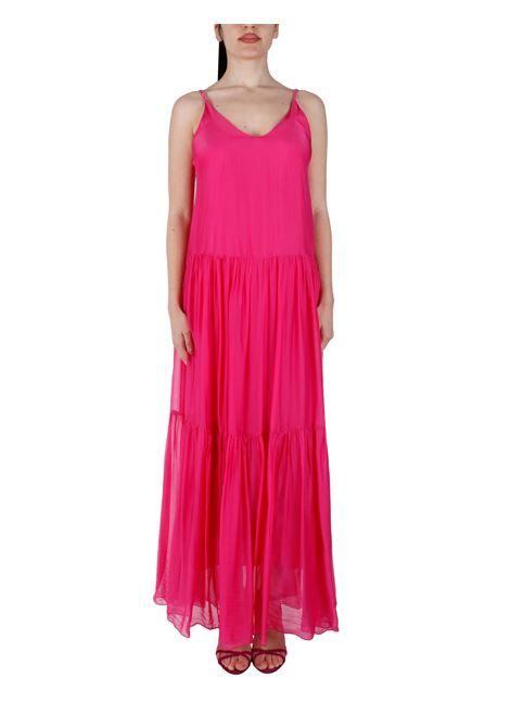 PLEATED SILK BLEND DRESS KAOS |  | NPJAR0034000