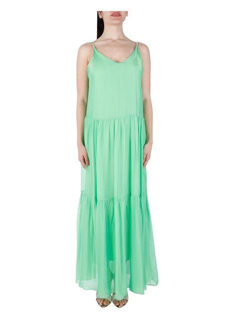 PLEATED SILK BLEND DRESS KAOS |  | NPJAR0035016