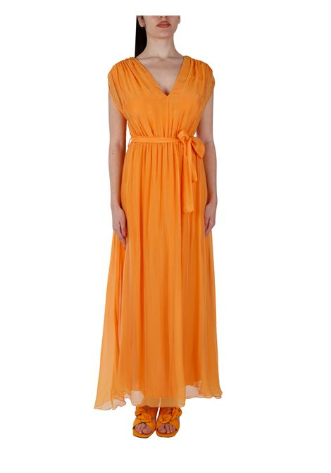 ORANGE SILK BLEND DRESS KAOS |  | NPJAR0077010