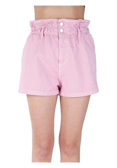 SHORTS ROSA IN COTONE KAOS | Shorts | NPJGZ0038002