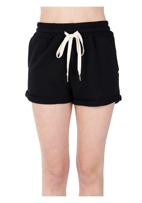 SHORTS NERI IN COTONE KAOS | Shorts | NPSMA0050001