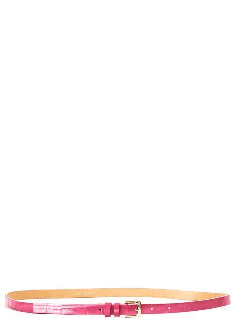 FUCSIA LEATHER BELT WITH GOLD BUCKLE L'AUTRE-CHOSE |  | LCN002158026