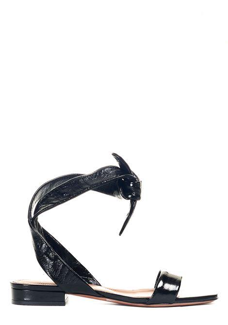 BLACK LEATHER SANDAL L'AUTRE-CHOSE |  | LDN00720CP1001