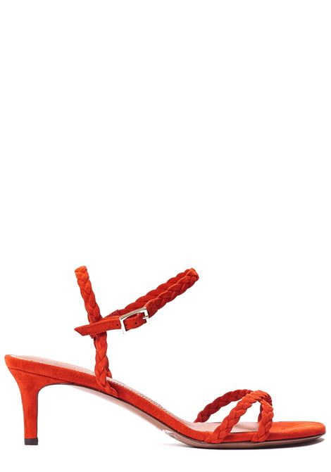RED SANDAL IN SUEDE L'AUTRE-CHOSE | Sandals | LDN03955CP4035