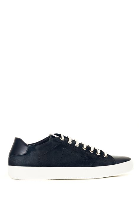 BLUE SUEDE SNEAKERS LEATHER CROWN | Sneakers | MLC13620164BLU