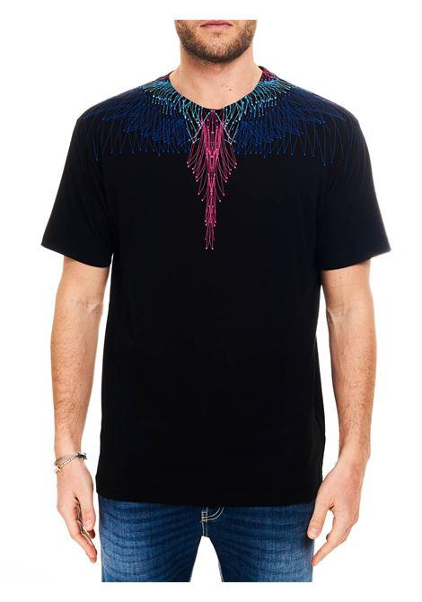 T-SHIRT IN JERSEY DI COTONE MARCELO BURLON | T-shirt | CMAA018R21JER0041045