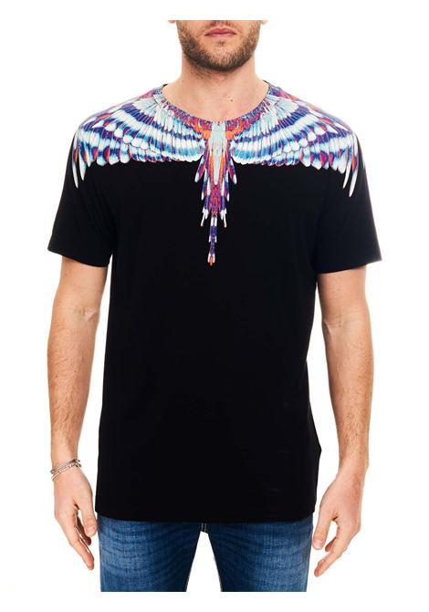 T-SHIRT IN JERSEY DI COTONE MARCELO BURLON | T-shirt | CMAA018S21JER0011040