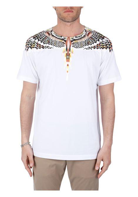 T-SHIRT IN JERSEY DI COTONE MARCELO BURLON | T-shirt | CMAA018S21JER0020118