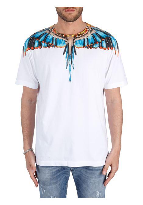 T-SHIRT IN JERSEY DI COTONE MARCELO BURLON | T-shirt | CMAA018S21JER0020140