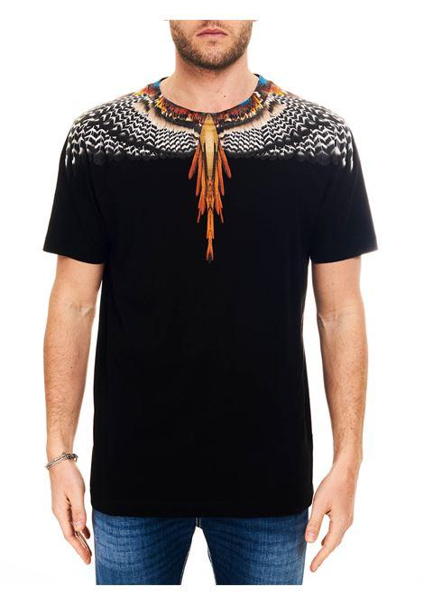 T-SHIRT IN JERSEY DI COTONE MARCELO BURLON | T-shirt | CMAA018S21JER0021020