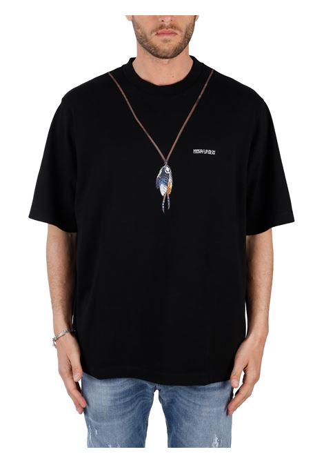 T-SHIRT IN JERSEY DI COTONE MARCELO BURLON | T-shirt | CMAA054S21JER0011045