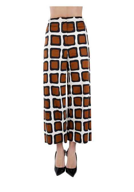 GIANT TROUSERS IN COTTON BLEND MAX MARA'S |  | 91311412600002