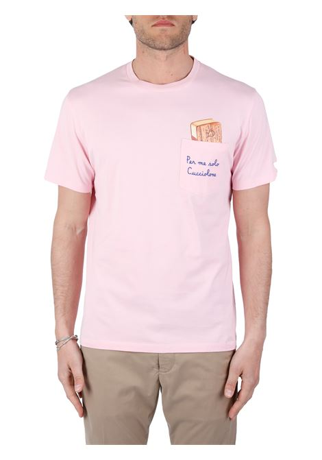 T-SHIRT CUCCIOLO IN COTONE MC2SAINTBARTH | T-shirt | AUSTINEMBCUCCIOLO21ROSA