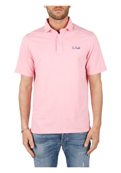 BRIGHTON COTTON POLO SHIRT MC2SAINTBARTH | Polo shirt | BRIGHTONFD21ROSA