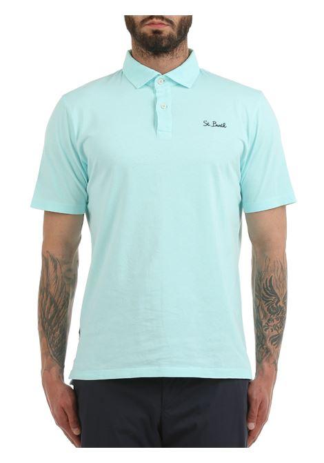 BRIGHTON COTTON POLO SHIRT MC2SAINTBARTH | Polo shirt | BRIGHTONFD56verde