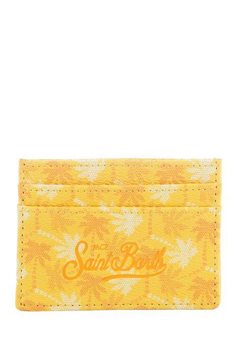CARD HOLDER WITH PALM PATTERN MC2SAINTBARTH | Card holder | CARDHOLDERSBMONO91MULTICOLOR