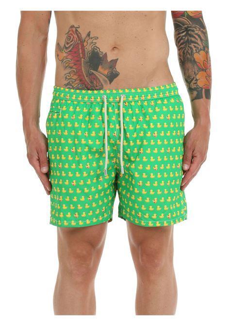 SEA SHORTS FANTASY LIGHTWEIGHT FABRIC MC2SAINTBARTH | Swimming suit | LIGHTINGMICRODUCKY57MULTICOLOR