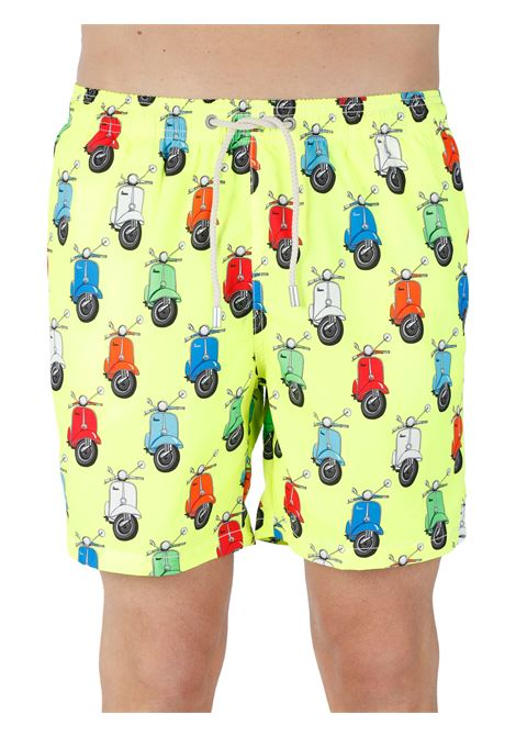 SHORTS MARE TESSUTO LEGGERO FANTASIA MC2SAINTBARTH | Costumi | LIGHTINGVESPAPARTY94ÙMULTICOLOR