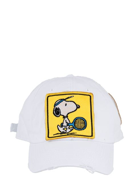CAPPELLO ROBERT SNOOPY CHAMPION MC2SAINTBARTH | Cappelli | ROBERTPTSNOOPYCHAMP01BIANCO