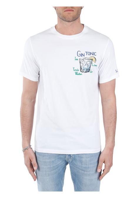WHITE GIN TONIC T-SHIRT MC2SAINTBARTH |  | TSHIRTMANEMBGINTONIC01NBIANCO