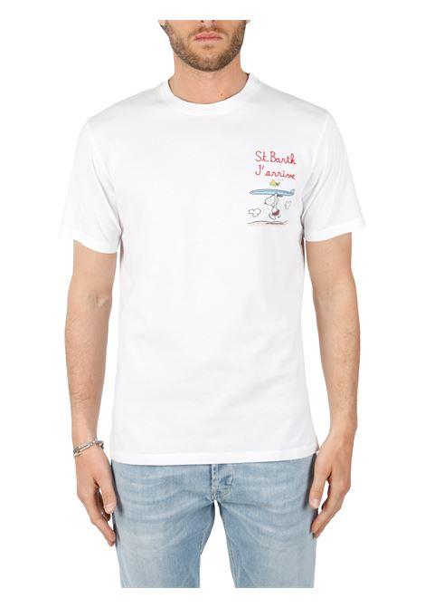T-SHIRT SNOOPY BIANCA MC2SAINTBARTH | T-shirt | TSHIRTMANEMBSNOOPYARRIVE01NBIANCO