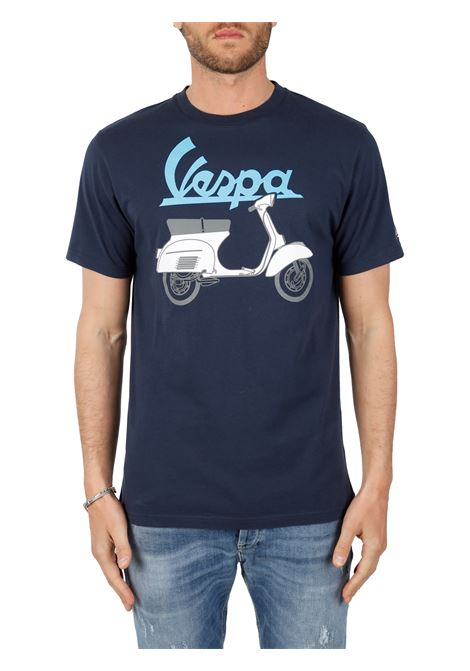 T-SHIRT VESPA ITALIENS BLU MC2SAINTBARTH | T-shirt | TSHIRTMANVESPAOUTLINE61BLU